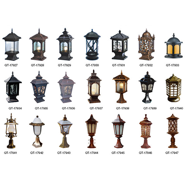 Column lamp series