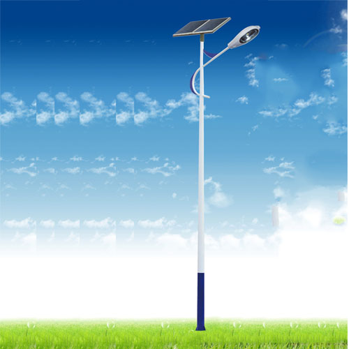 Solar street lamp in New Countryside